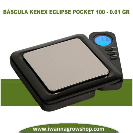 Báscula Kenex Eclipse Pocket 100 – 0.01 gr