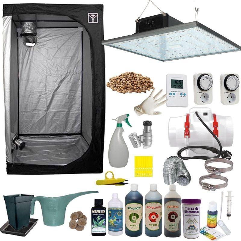 Kit de cultivo LED 60 Completo 150w Eco