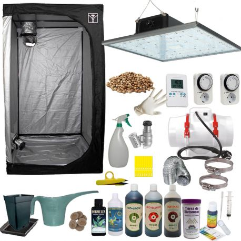 Kit de cultivo LED 80 Completo 240w Eco