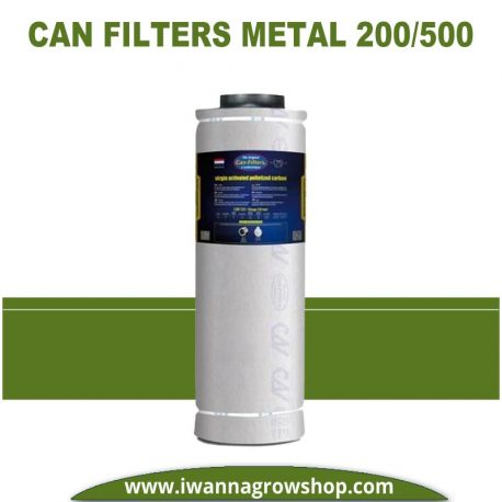 Filtro Can Filters Metal 200/500 900 m3/h