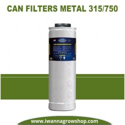 Filtro Can Filters Metal 315/750 1200 m3/h