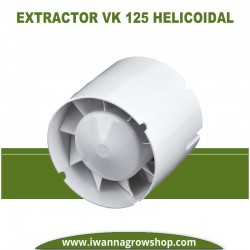 Extractor Vents 125 VK01 (190 M3) Helicolidal