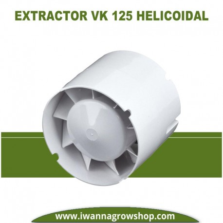 EXTRACTOR VENTS 125 VK01 (190 M3) HELICOIDAL