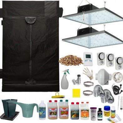 Kit de cultivo LED 640w Eco Completo