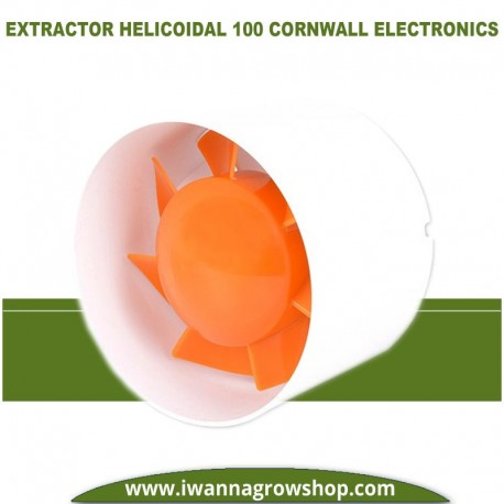 Extractor Helicoidal 100 (160m3/h) Cornwall Electronics