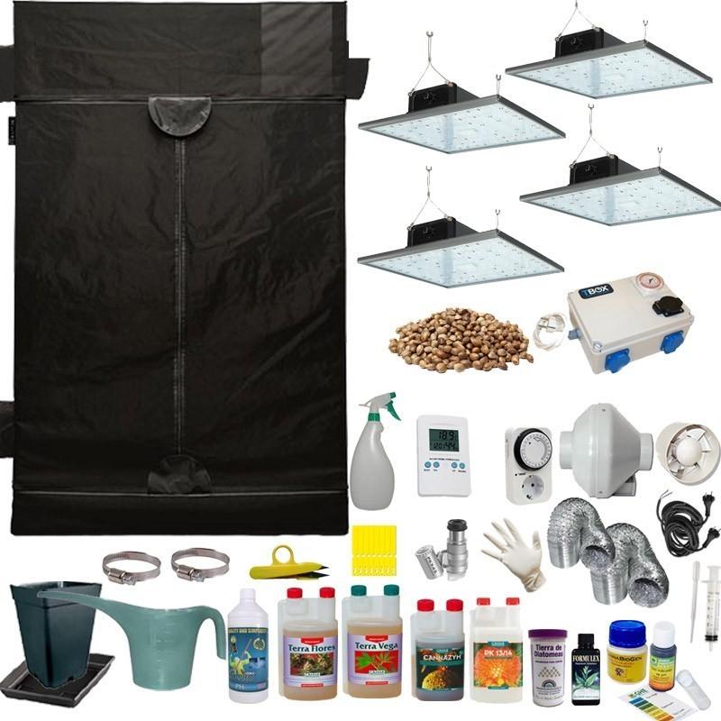 Kit de cultivo LED 1280w Eco Completo