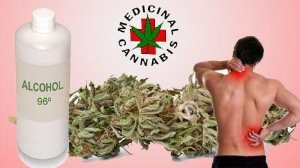 como hacer alcohol de marihuana
