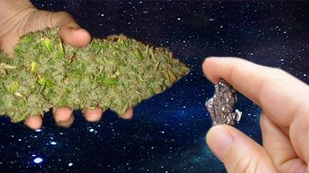 Marihuana Extraterrestre. La Nasa descubre THC en un trozo de meteorito