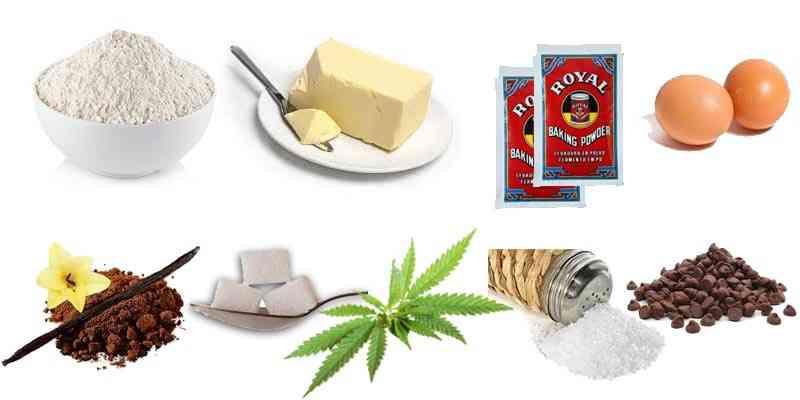 ingredientes galletas de marihuana