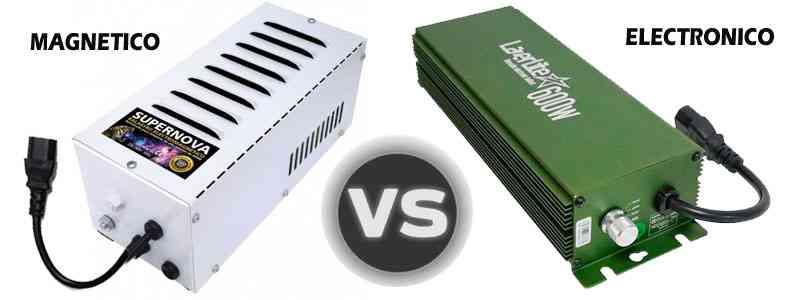 Diferencias entre los balastros electrónicos y electromagnéticos