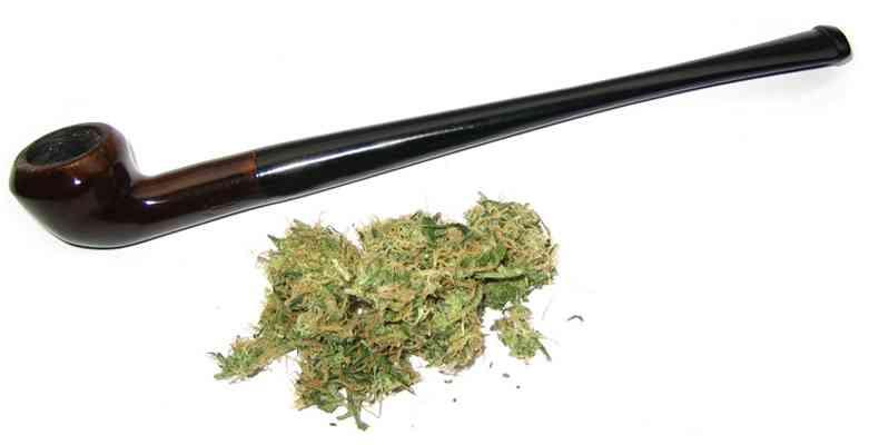 fumar marihuana sin tabco en pipa