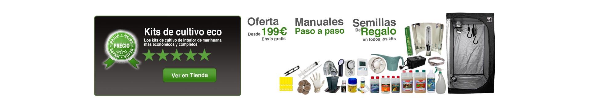 Kits de cultivo eco en oferta