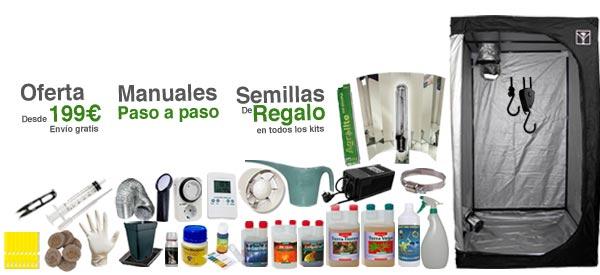 armarios de cultivo completos eco