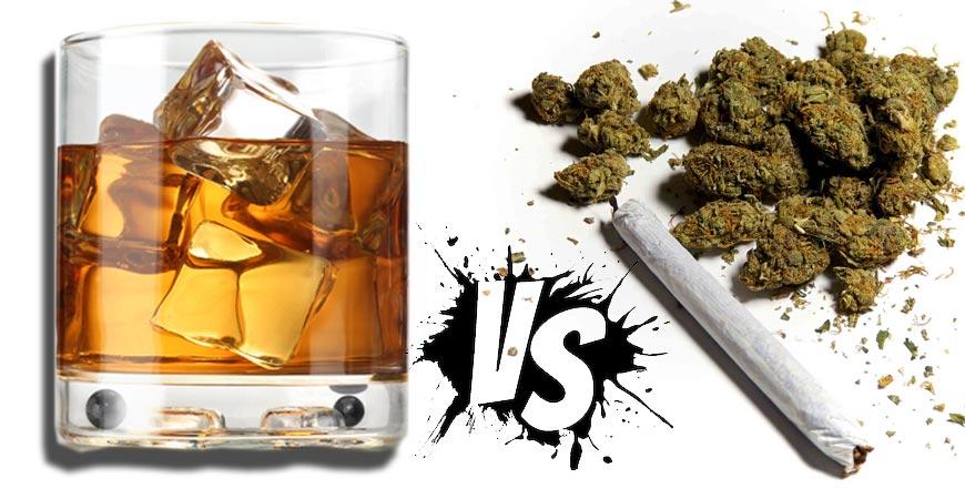 marihuana vs alcohol